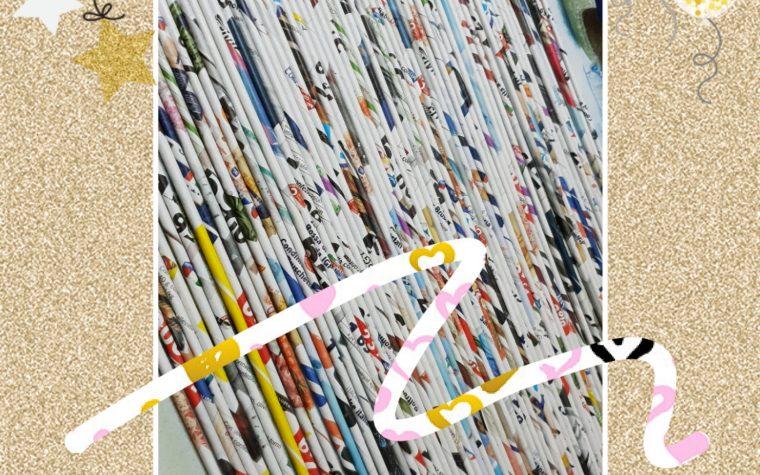 Cannucce di… carta riciclata!